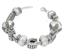Reisetagebuch - Armband aus Silber