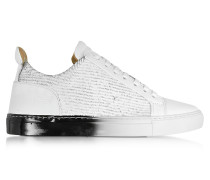 Amalfi Low Top Herren-Sneaker mit Laser Cut aus Leder