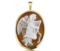 Engel mit Harfe Kameen Anhänger