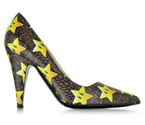Super Stars Pumps aus Leder