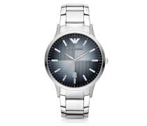 Classic Armbanduhr für Herren aus Edelstahl