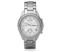 Decker Ladies Armbanduhr aus Edelstahl