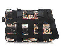 Ghetto Blaster Simple Folio aus bedrucktem Nylon