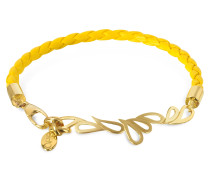 Mari Friendship - Armband aus Leder und vergoldetem Silber