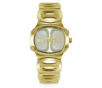 Born JC - Armbanduhr in Gold
