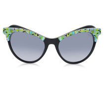 EP35 Fantasy Damen Sonnenbrille in Cat Eye Form aus Acetat
