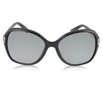 ALANA/S Runde Sonnenbrille mit Kristalleinsätzen