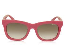 SASHA/S 8V0K8 Sonnenbrille aus Acetat in pink mit silbernen Sternen