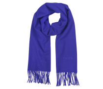Solid Wool Signature Long Scarf w/Fringe