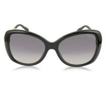 Mizar 917S-A Damen-Sonnenbrille aus Acetat in schwarz mit Kristallen