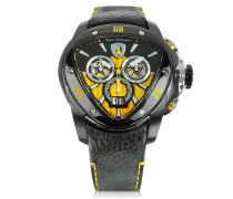 Black Spyder Chronographenuhr aus Edelstahl