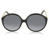 MJ 613/S Runde Sonnenbrille aus Acetat