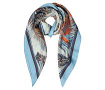 Feathers Print Halstuch aus Seide