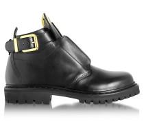 King Smooth Low Boot aus Leder