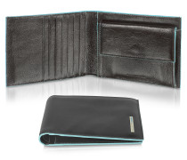 Blue Square - Herrenbrieftasche aus Leder
