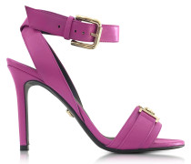 Pink Leather Sandal