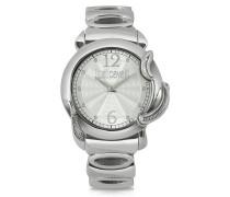 Eden - Armbanduhr in silber