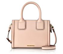 Light Pink Saffiano Leather K/Klassic Mini Tote