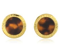 Heritage Ohrringe goldfarben und mit Acetat
