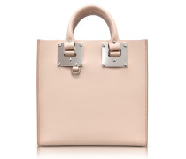 Blossom Pink Albion Saddle Leather Square Tote