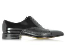 Digione Oxford Schuhe aus Peccary und Kalbsleder