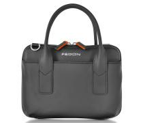 Bubble Double Handles Mini Bag w/Shoulder Strap