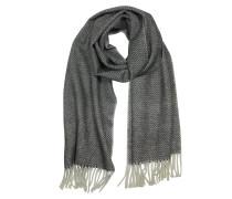 Pure langer Schal aus Kaschmir mit Fransen