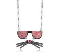 K/Kocktail Halskette mit Glittereffekt