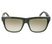 ALEX/N/S 9H7JS Sonnenbrille mit Leopardenprint in schwarz