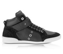 Lewis Black Sport Leather and Suede High Top Men's Sneakers