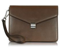 New Class Leather Clutch w/Wristlet