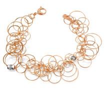 Scintille - Armband aus 18k Rosegold mit Diamanten