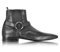 Reed Low Boot aus Nappaleder in schwarz