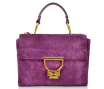 Arlettis Suede Mini Shoulder Bag