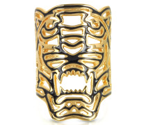 Maxi Tiger Ring in gold