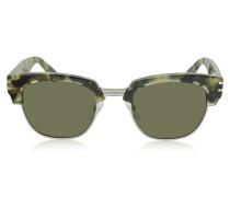 MJ 590/S Browline Sonnenbrille aus Acetat