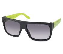 Große Sonnenbrille mit quadratischen Gläsern