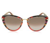 EP0011 Fantasy Cat Eye Sonnenbrille aus Acetat