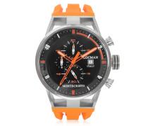 Montecristo Stainless Steel and Titanium Case Men's Watch