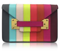 Rainbow Mini Milner Saddle Leather Envelope Bag