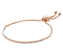 Brilliance Armband aus Metall in rosé mit Kristallen