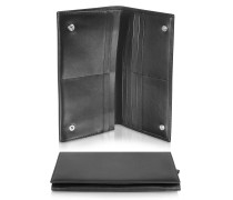 Classica Collection - Brieftasche aus Kalbsleder in schwarz
