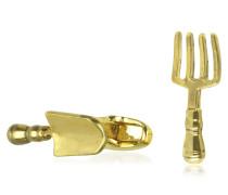 Fork And Trowel Manschettenknöpfe