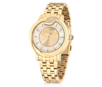Spire JC Golden Stanless Steel Women's Watch