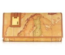Brieftasche für Damen mit Geoprint