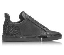Amalfi Low 2.0 Herren-Sneaker aus Leder in schwarz