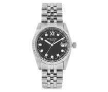 Trevi Silver Tone Stainless Steel Women's Watch