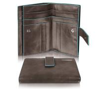 Blue Square - Damenbrieftasche mit Kartenfächern und Id Fenster
