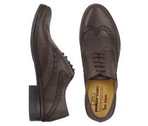Italienische Oxford Schuhe handgefertigt aus Leder