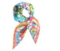 Ipanema Girl Print Silk Square Scarf